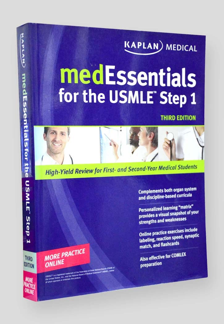 MED ESSENTIALS FOR THE USMILE STEP 1 3RD EDITION|The Bookshop